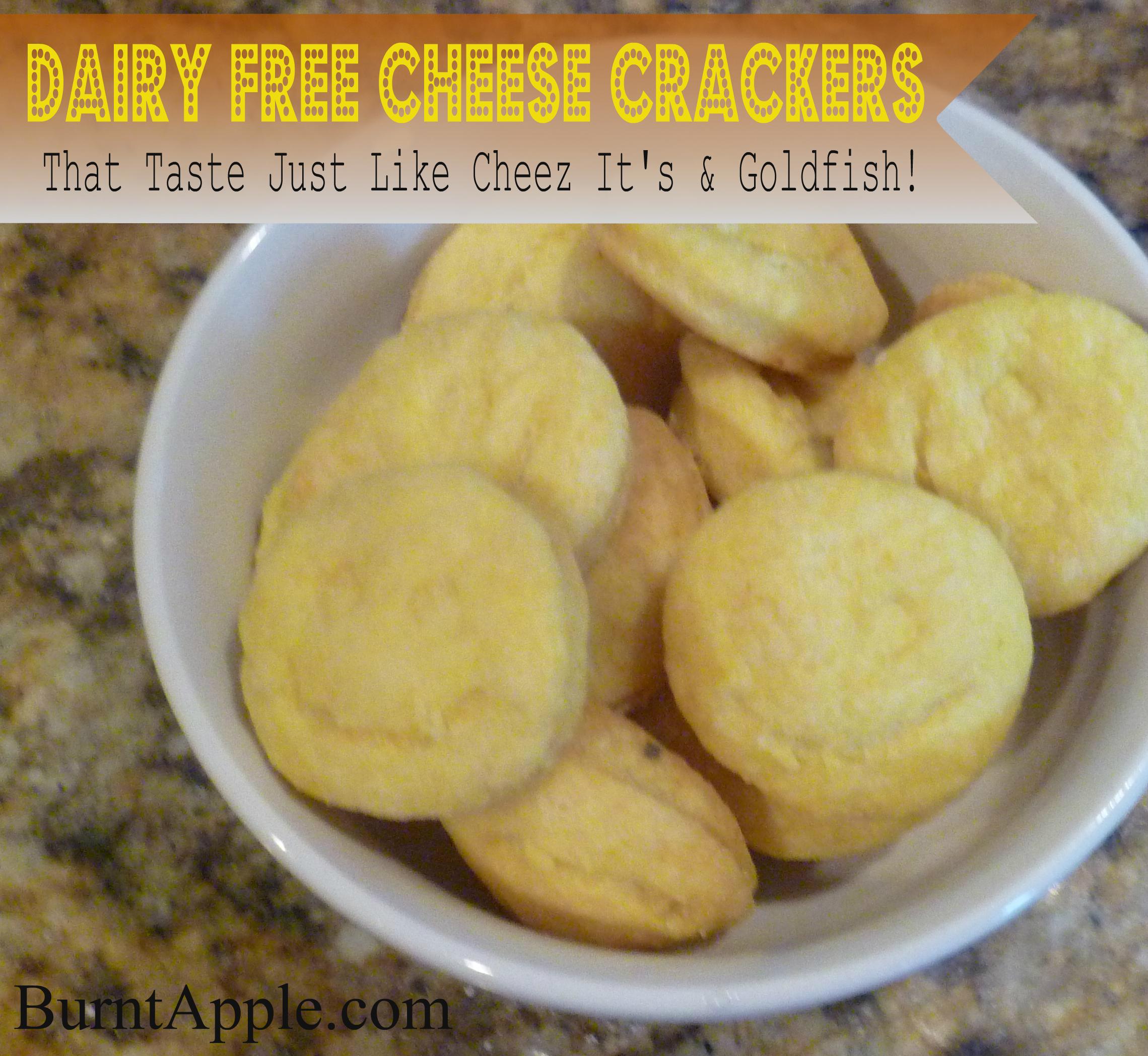 Vegan Cheese Crackers Just Like Cheezits And Goldfish