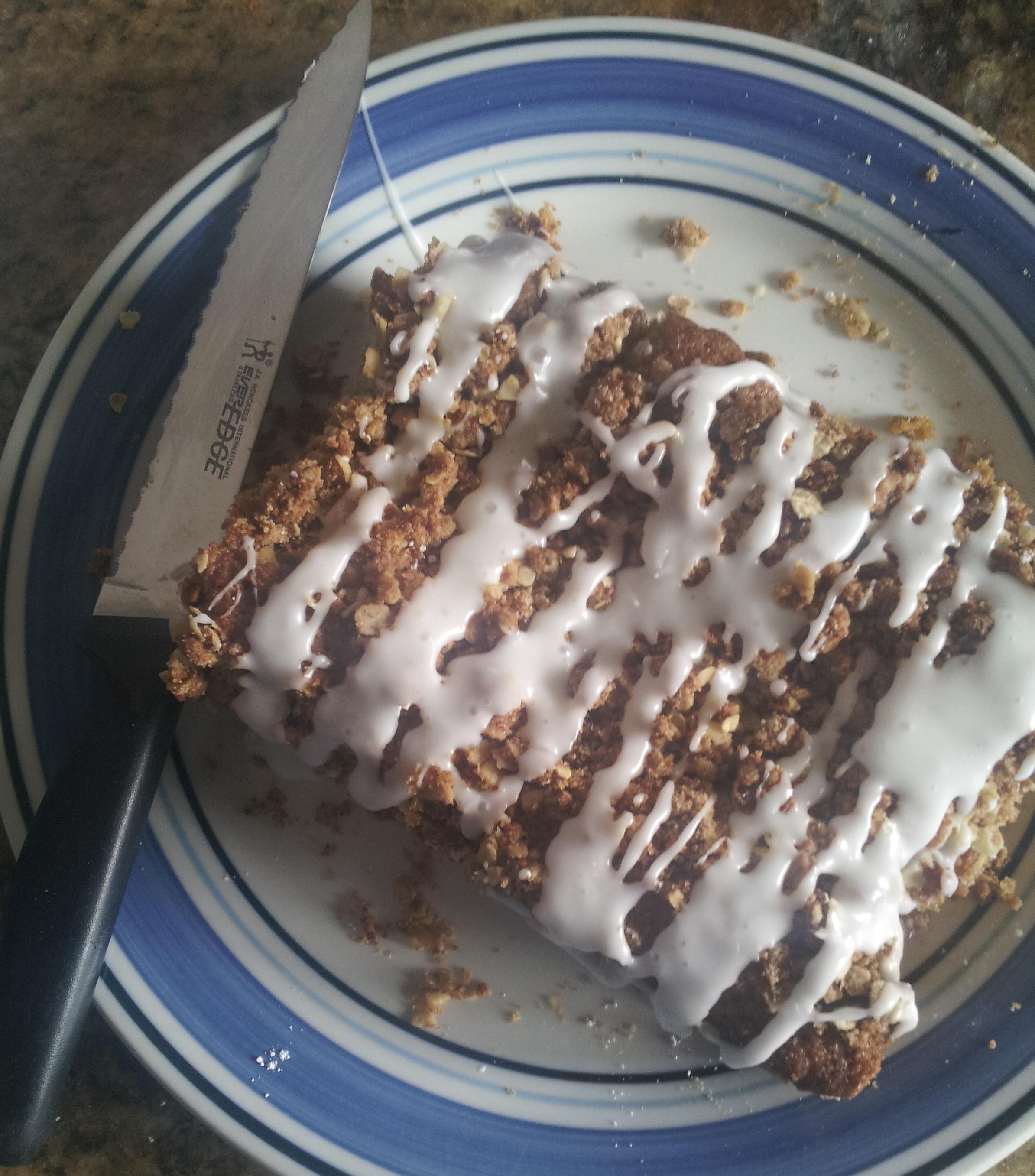 whole grain coffee cake