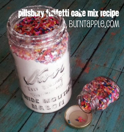 Pillsbury Funfetti Cake Mix Recipe {Makeover}