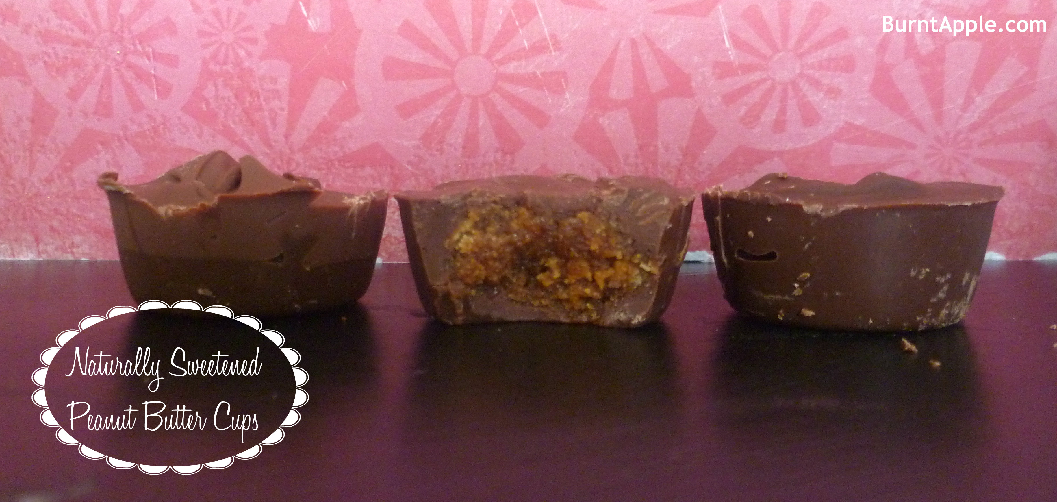 Peanut Butter Cups {Naturally Sweetened}