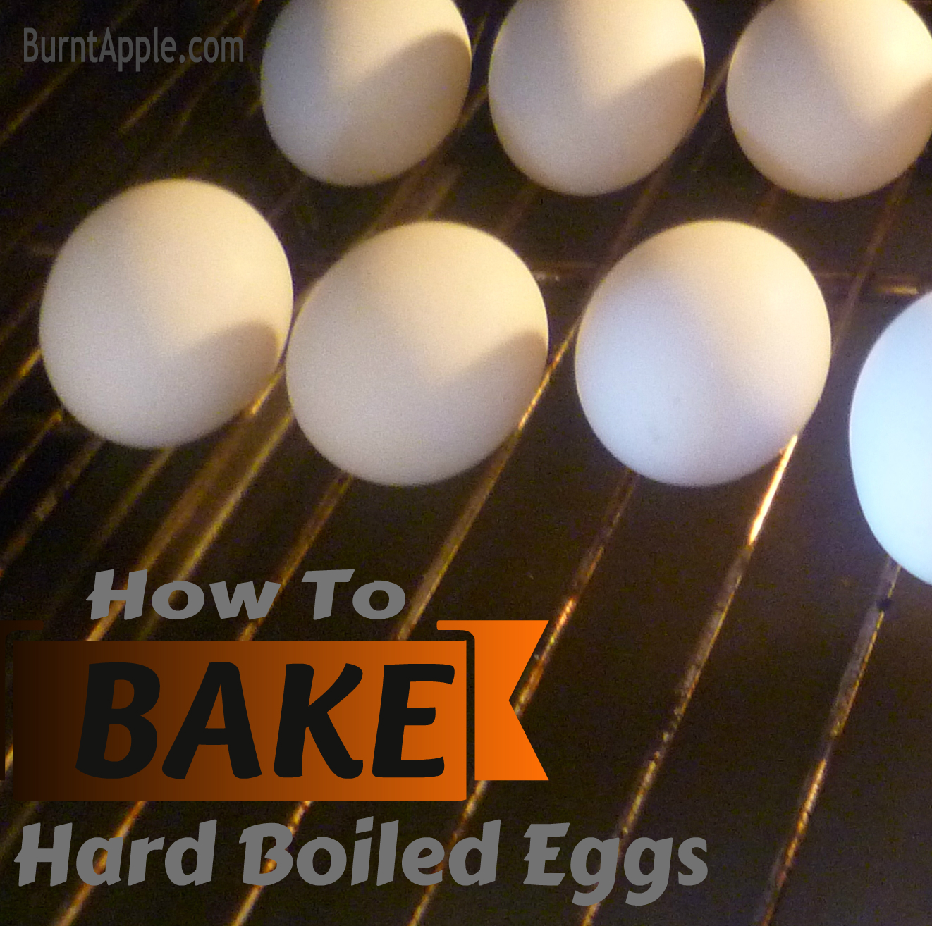 {Trying It Tuesday} How to Bake A Hard Boiled Egg