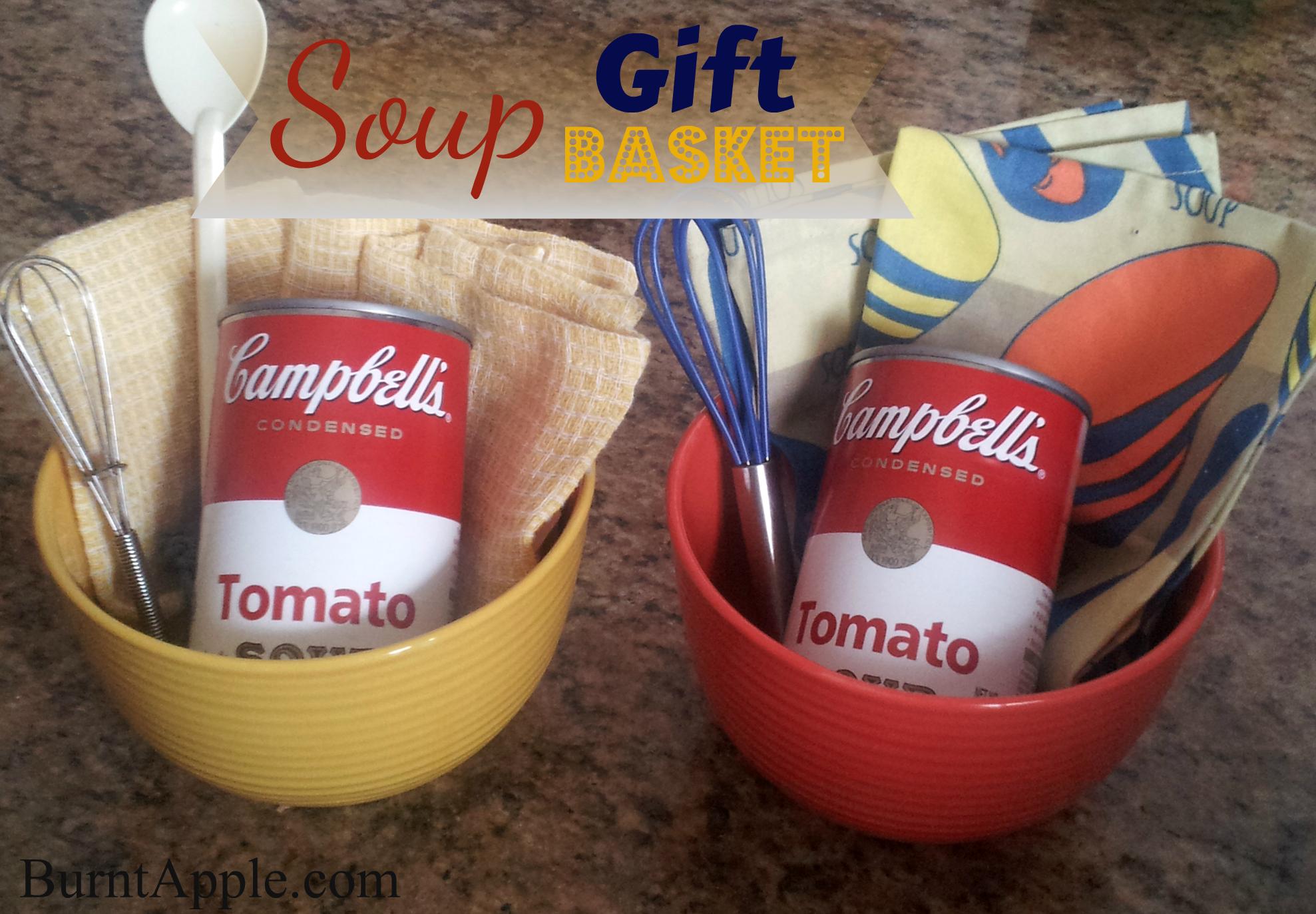 soup gift basket - burnt apple