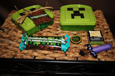 25 Minecraft Birthday Party Ideas - Burnt Apple