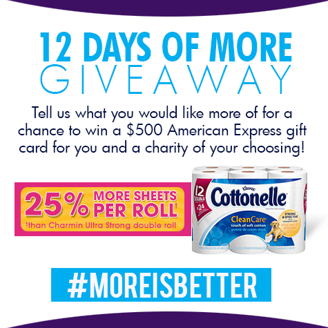 cottonelle more is better
