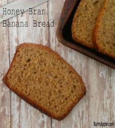 honey bran banana bread