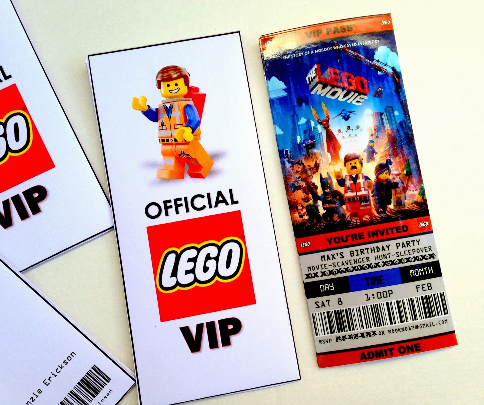 Lego Movie Birthday Invitations Gangcraftnet - Lego birthday invitation template free