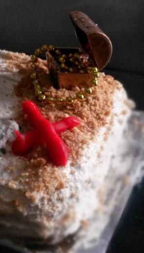 Babys Healthy First Birthday Cake Burnt Apple