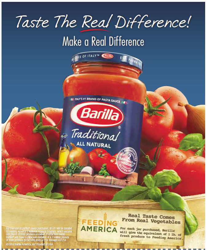 barilla taste the difference