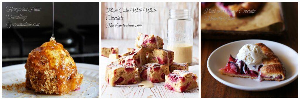 healthy plum desserts