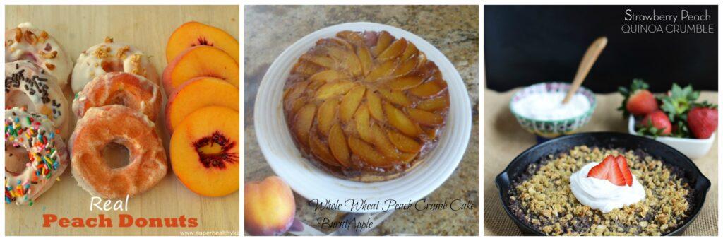 healthy peach desserts