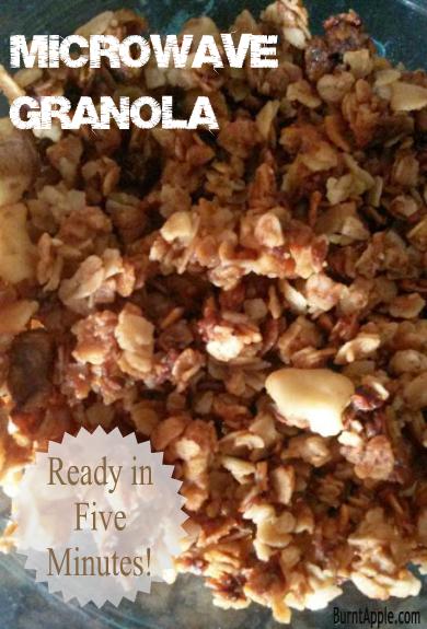 microwave granola