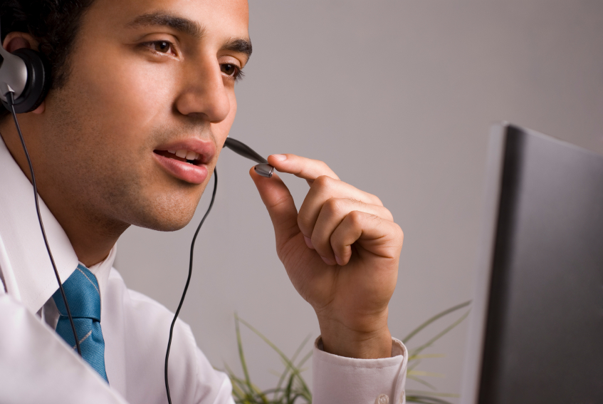 phone worker