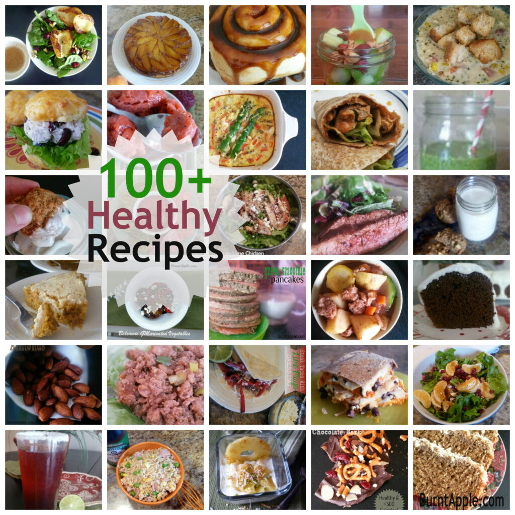 100 healthy recipes