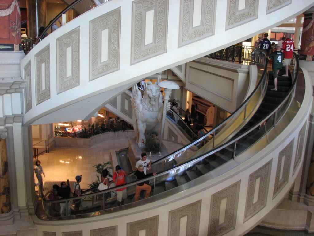 spiral escalator san francisco