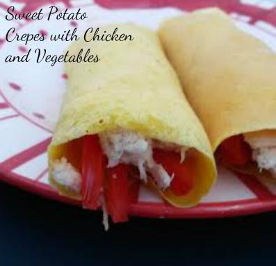 sweet potato crepes