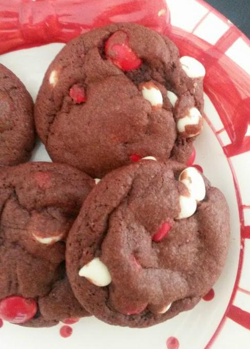 natural red velvet cookies