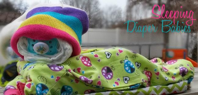 sleeping diaper babies