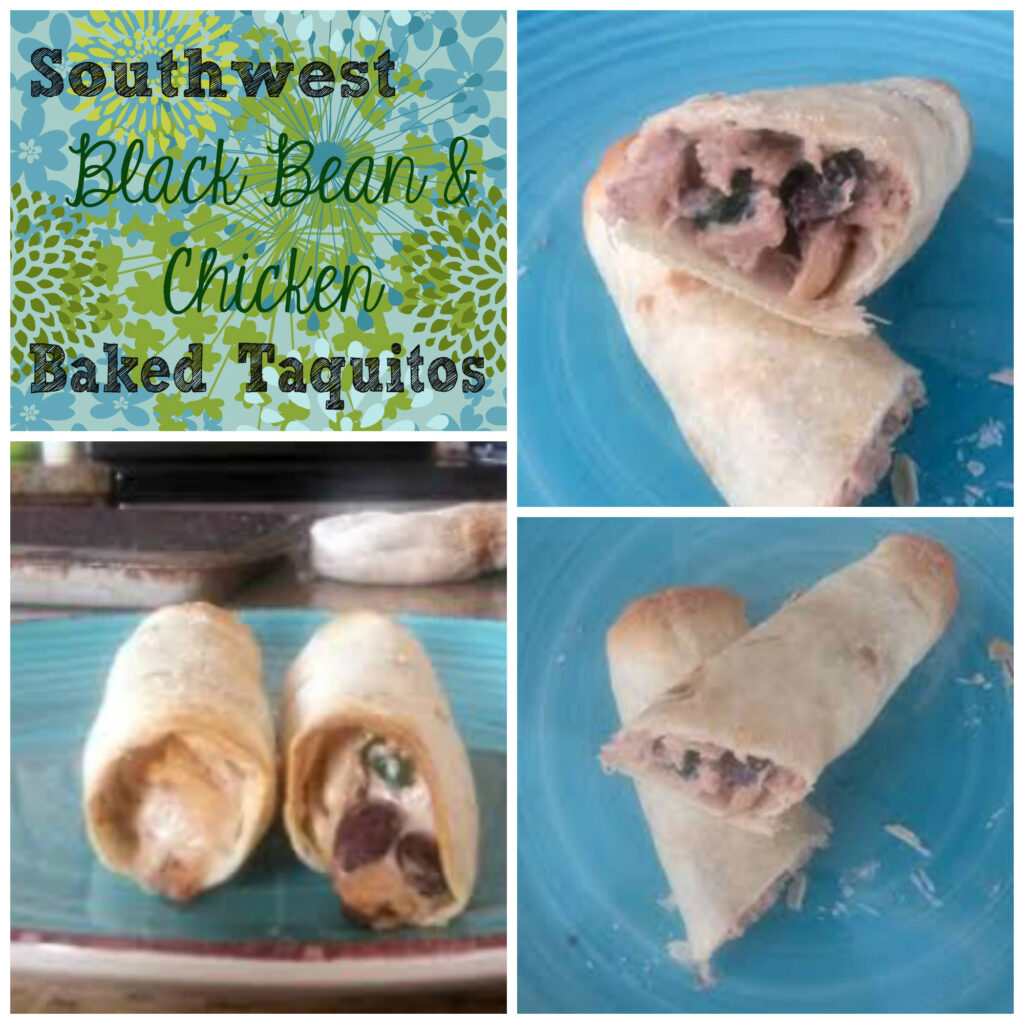 chicken baked taquitos