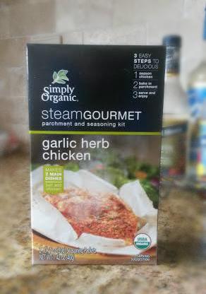 simply organic steam gourmet