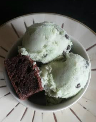flax milk ice cream