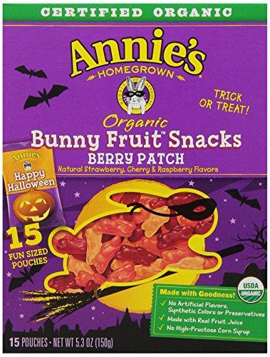 annies halloween fruit snacks