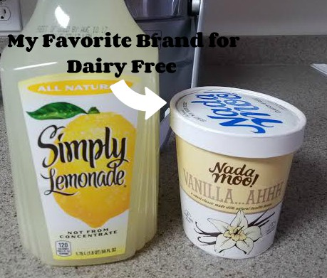 dairy free frosted lemonade