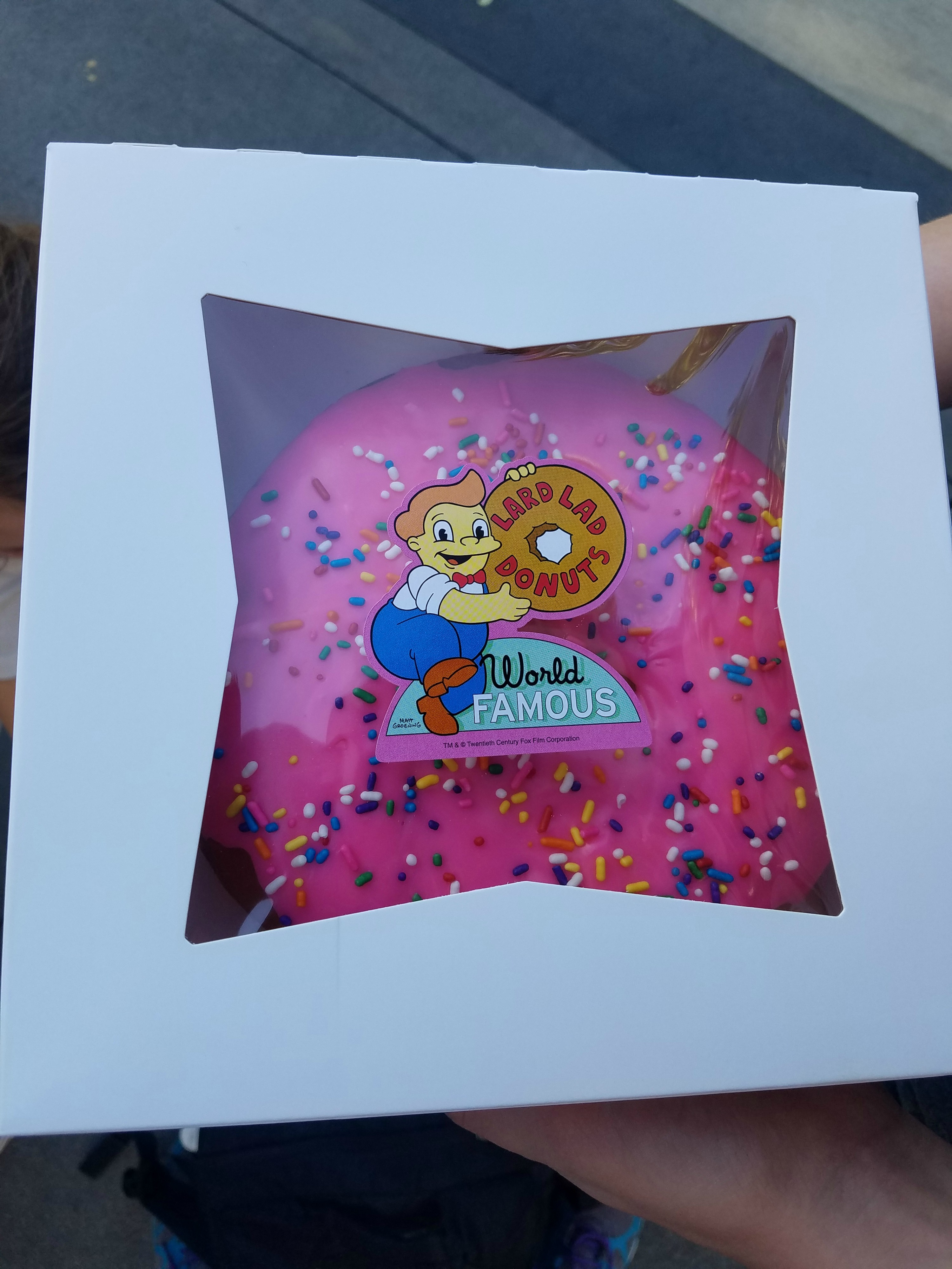 simpsons donuts
