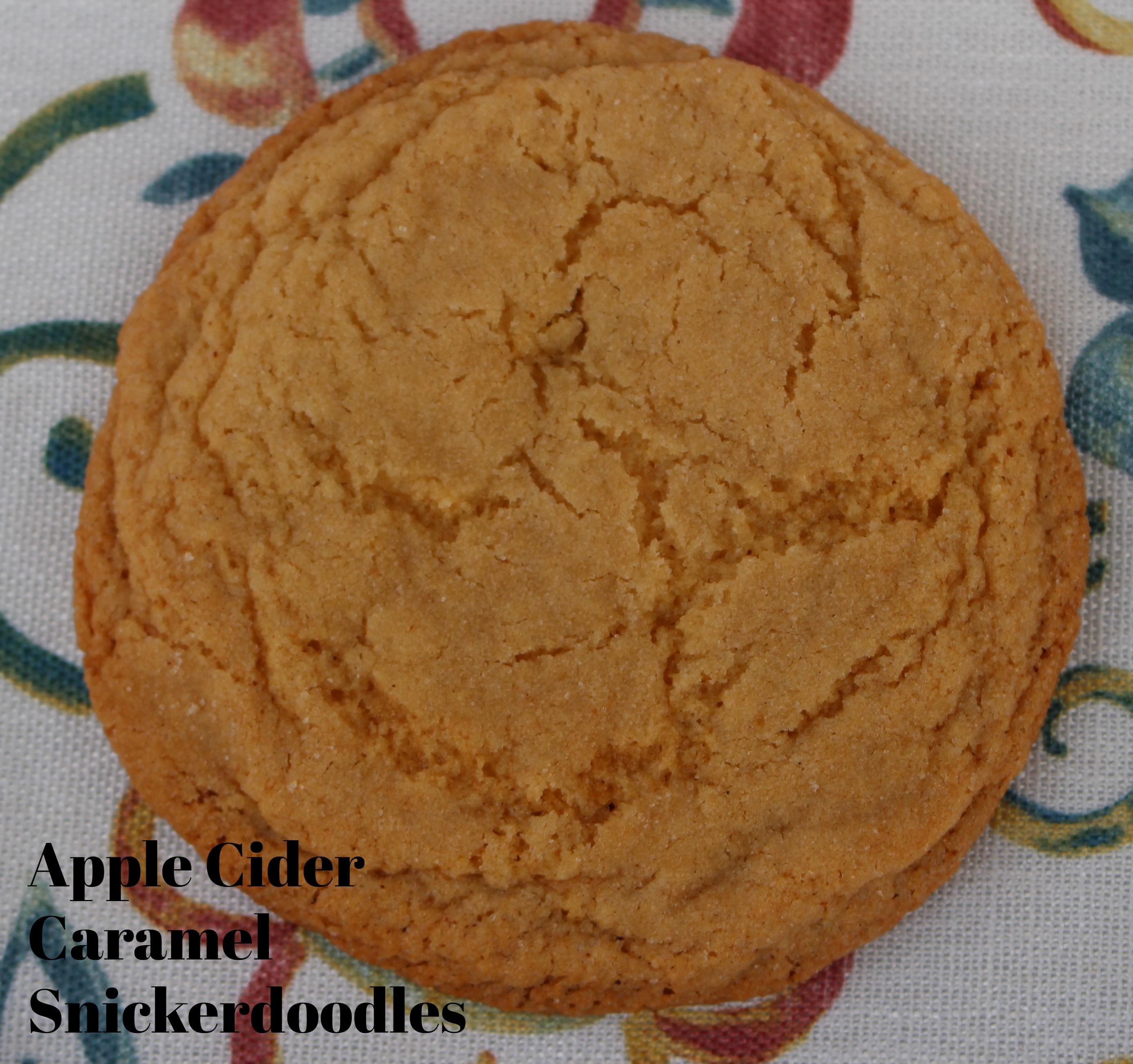 apple cider snickerdoodle