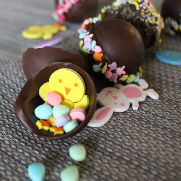 chocolate surprise egg