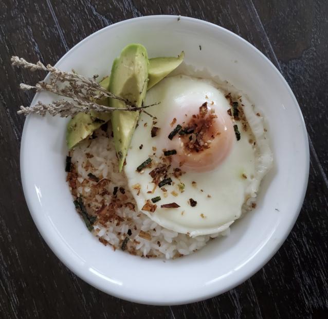 Egg, Rice & Seasoning Dish