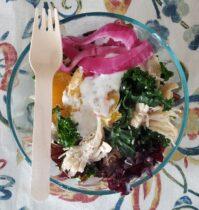 restaurant chicken salad