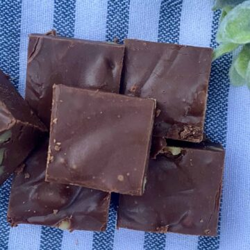 dairy free fudge