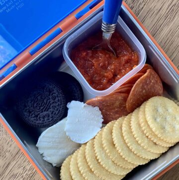 gluten free pizza lunchable