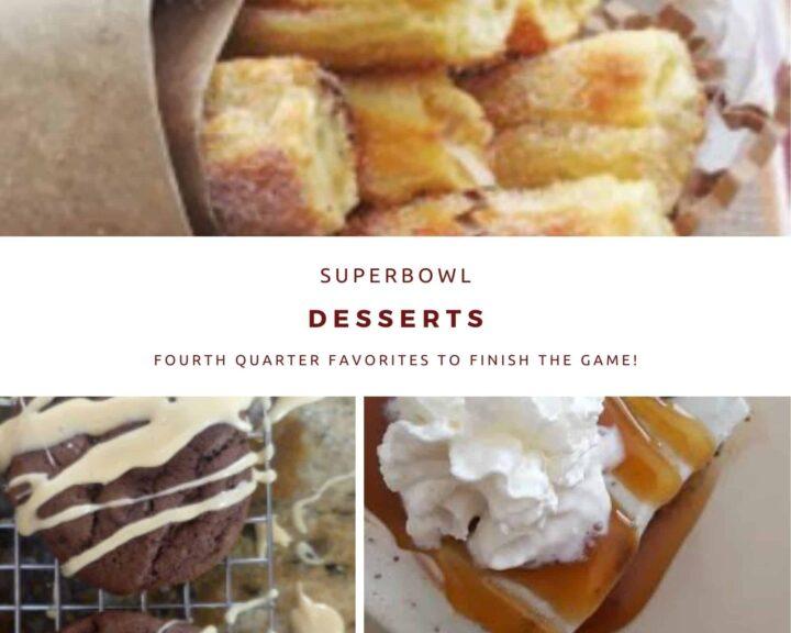 superbowl desserts