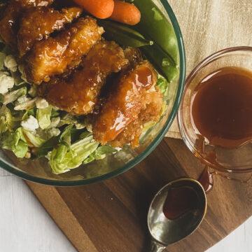 wingers sticky finger salad