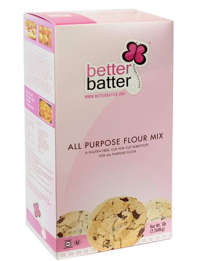 better batter gluten free flour allergen free flour baking cooking