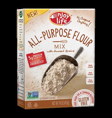 enjoy life baking cooking flour allergy allergen food gluten free