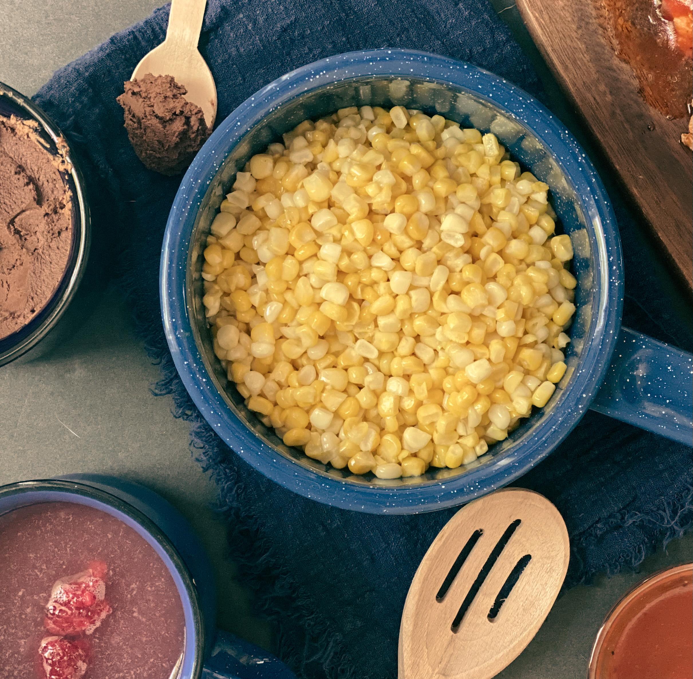 gluten free dairy free buttered corn saute
