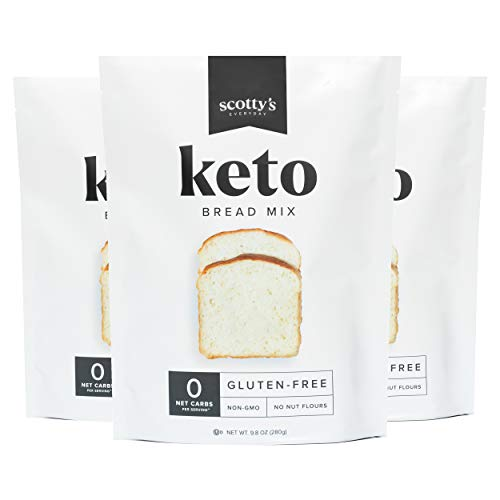scottys keto zero calorie baking bread cooking flour