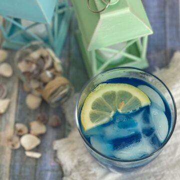 blue curacao lemonade tonic water vodka blue curacao liquor