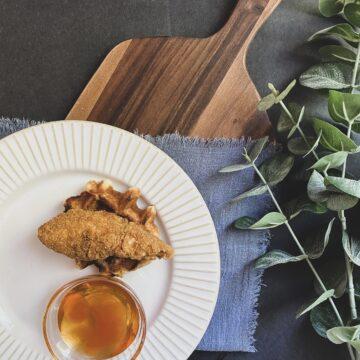 gluten free chicken and waffles liege waffles