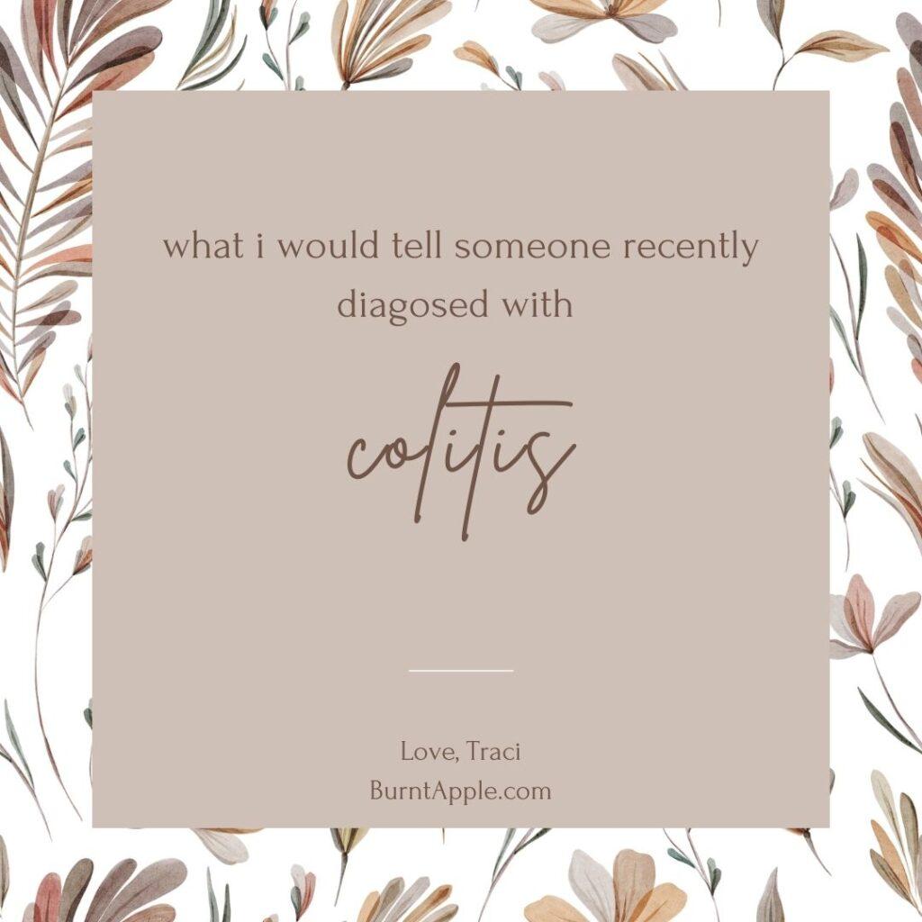 colitis diagnosis struggles pain
