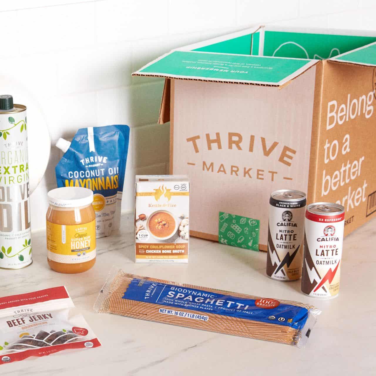 thrive market gluten free groceries worst best grocery shopping